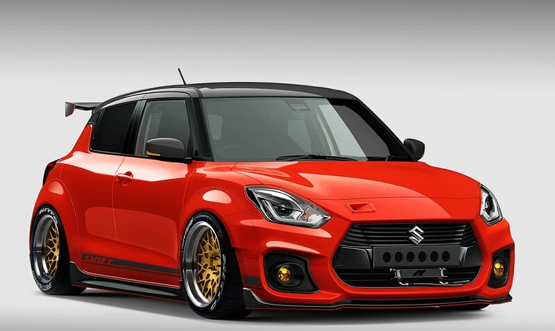 Modified Maruti Swift Sport